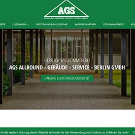 Homepage Referenz AGS Berlin GmbH