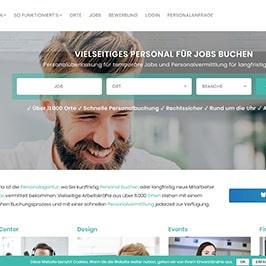 Homepage Referenz Caluma UG, Düsseldorf