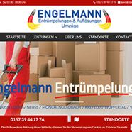 Webdesign Engelmann Entrümpelungen, Düsseldorf