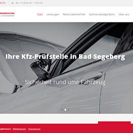 Webdesign für KFZ-Prüfstellen