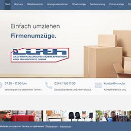 Webdesign für Umzugsunternehmen